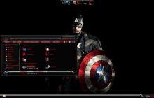 Captain America SkinPack for Windows 10 and 7/8