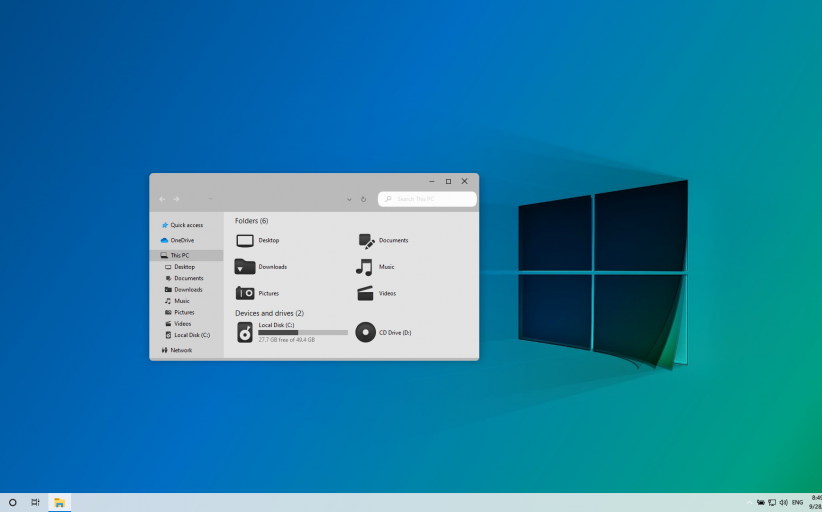 Windows 11 Modern SkinPack for Windows 10