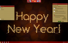 New Year Skin Pack for Windows 10