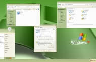 XP Green Skin Pack for Windows 10