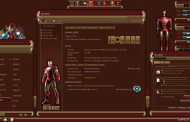 Iron Man Premium SkinPack for Windows 10