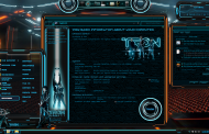 TRON Legacy Premium SkinPack for Windows 10