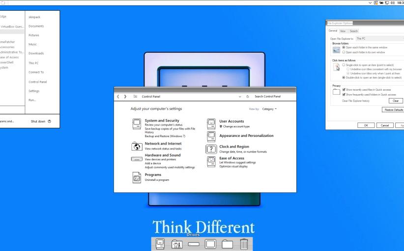 Mac Classic 1 Skin Pack for Windows 10