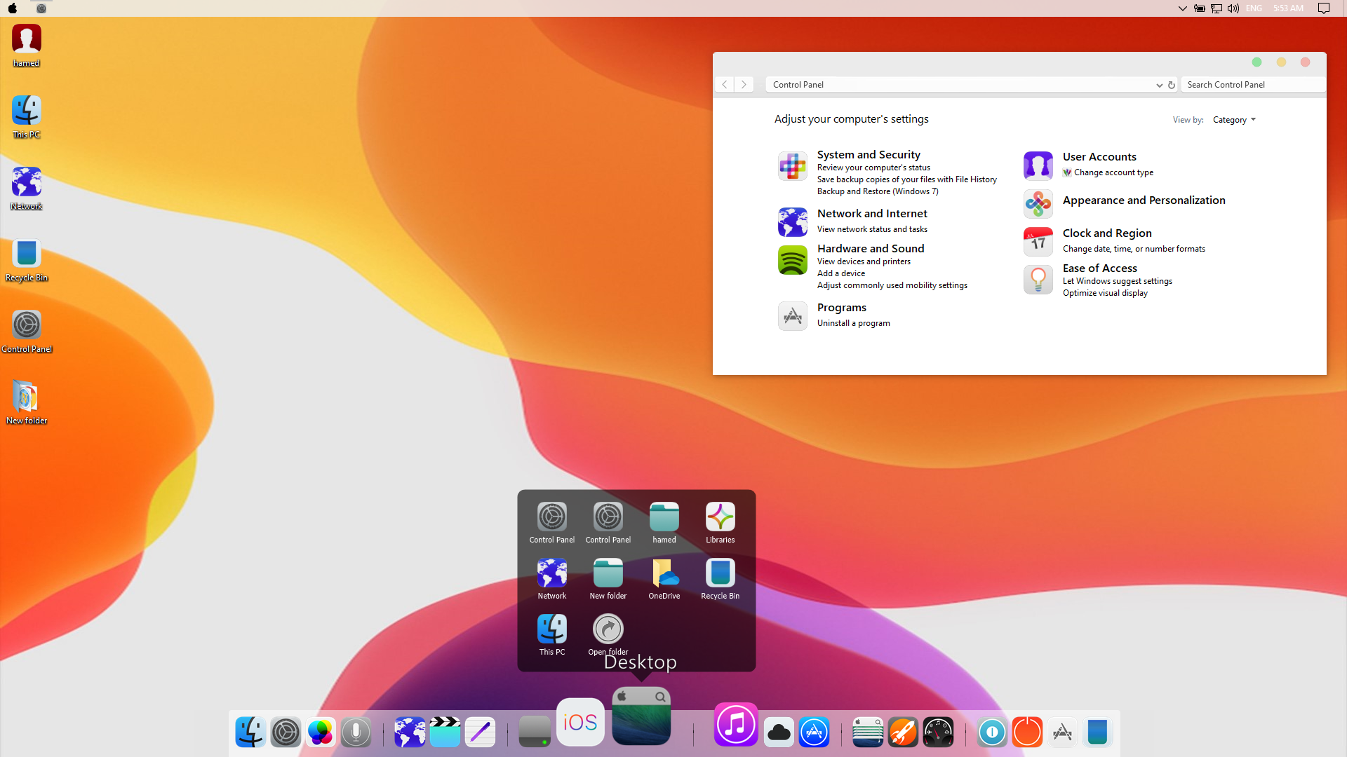 iOS 13 SkinPack for Windows 78 110 RS6 - SkinPack