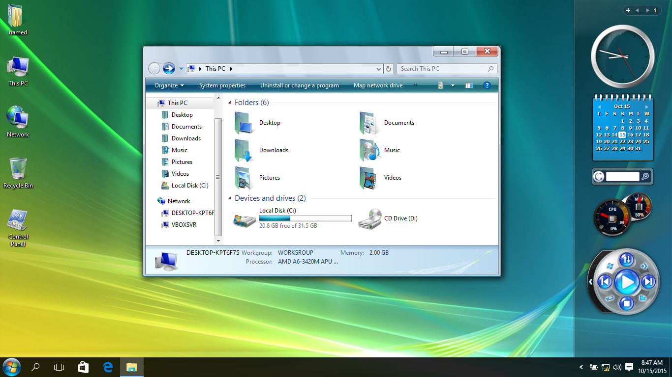 Vista SkinPack for Windows 7\8.1\10 19H1 19H2 20H1