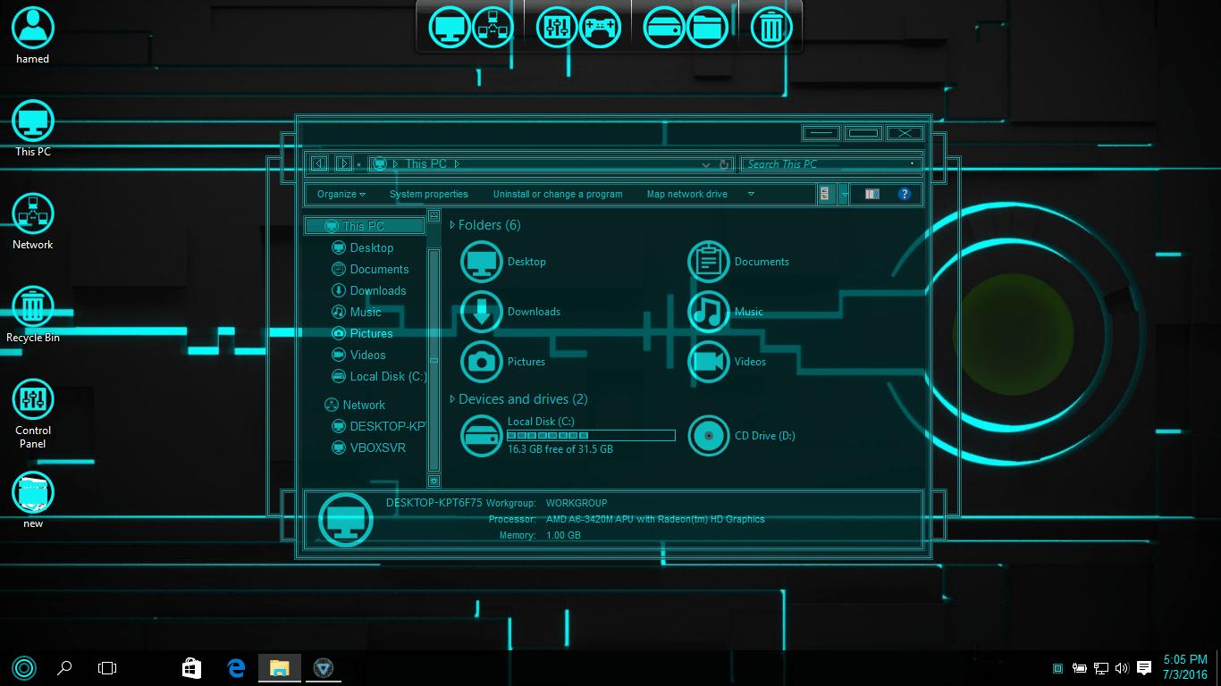 Ubuntu Budgie SkinPack for Windows 10 and 7