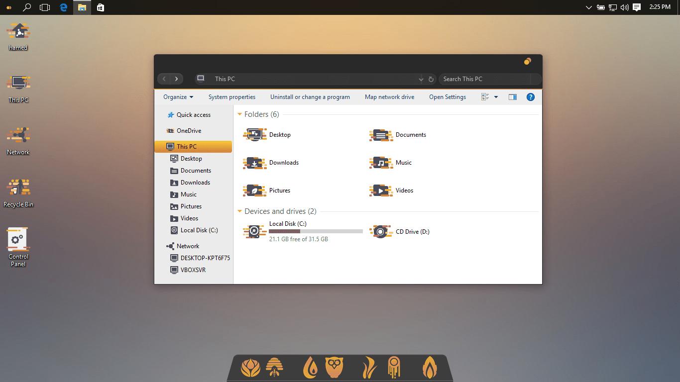 Unity SkinPack for Windows 10 and 7/8