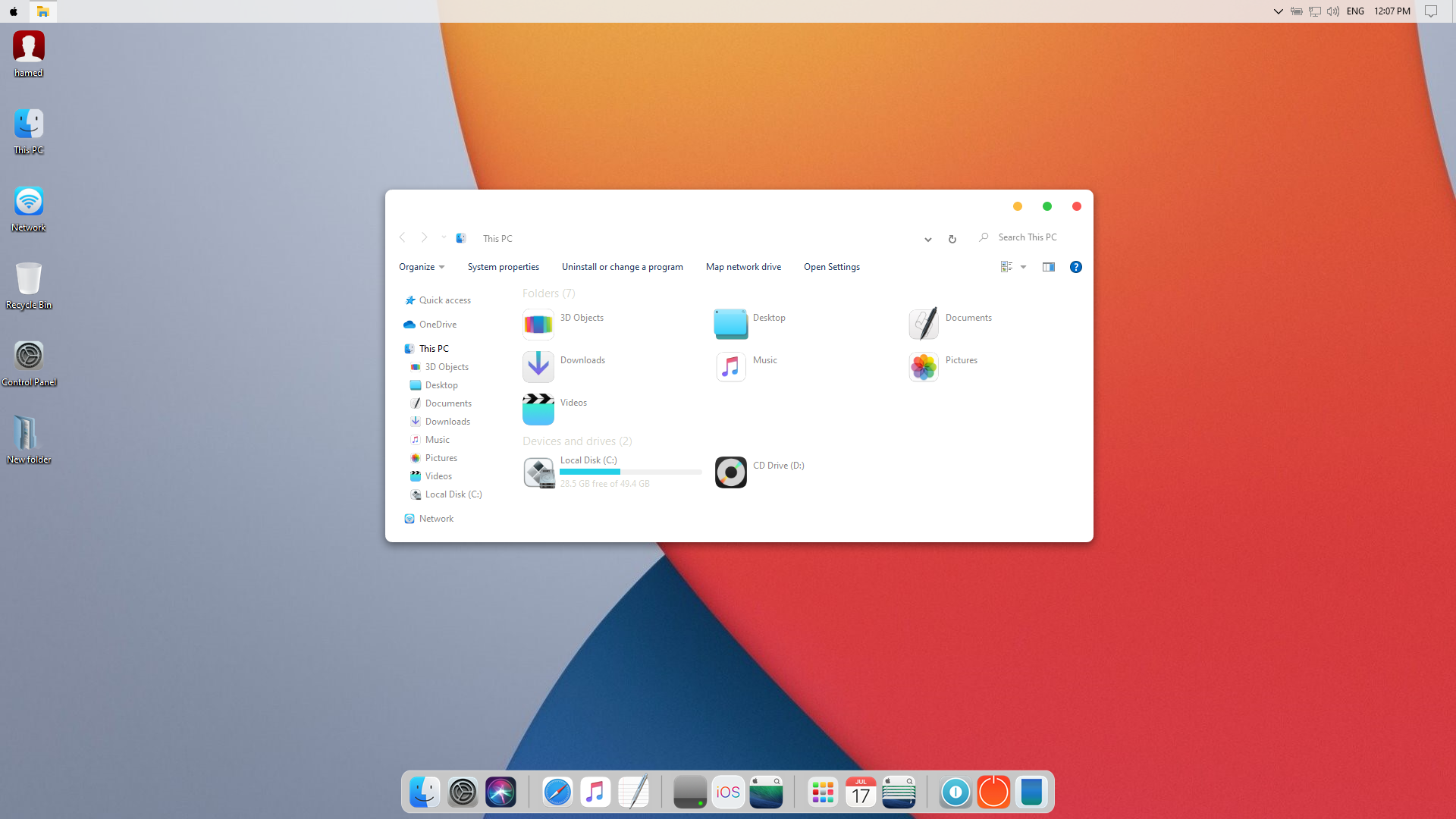 iOS 14 SkinPack for Windows 10 and 7/8