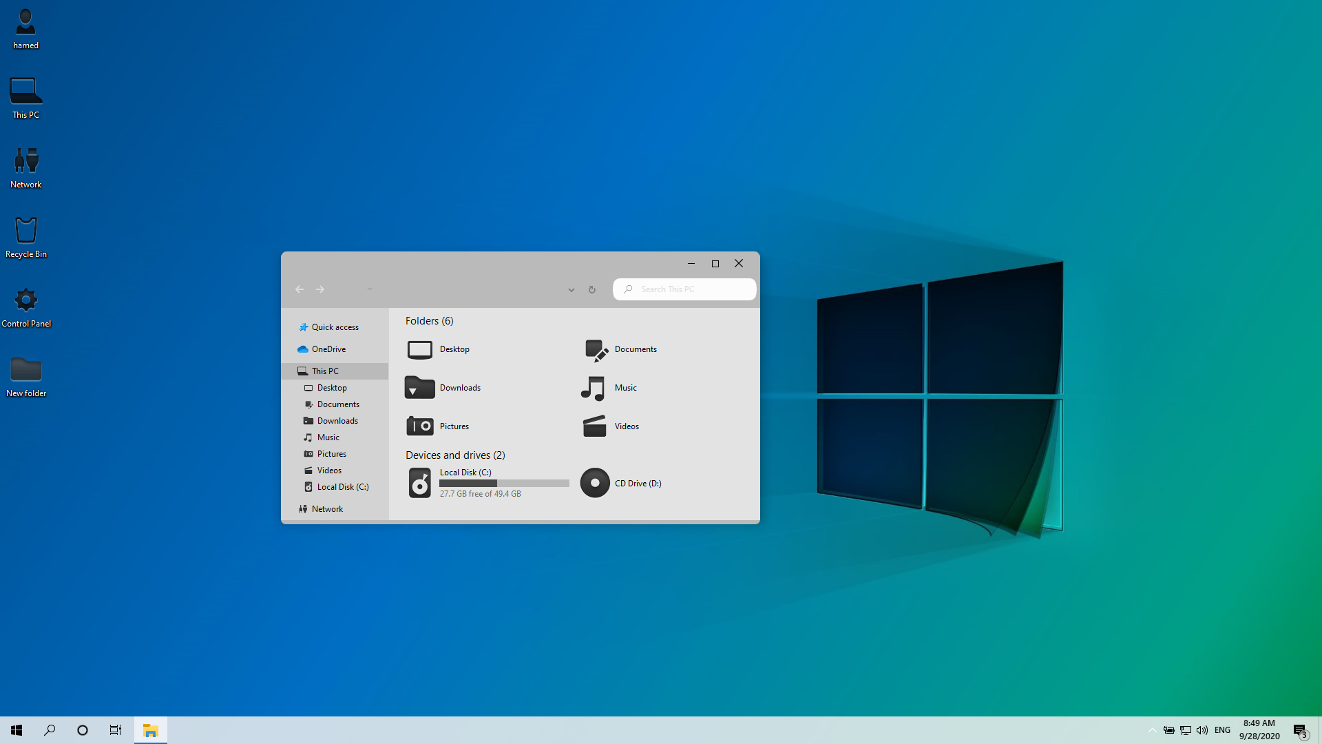 Windows 11 Modern SkinPack for Windows 10