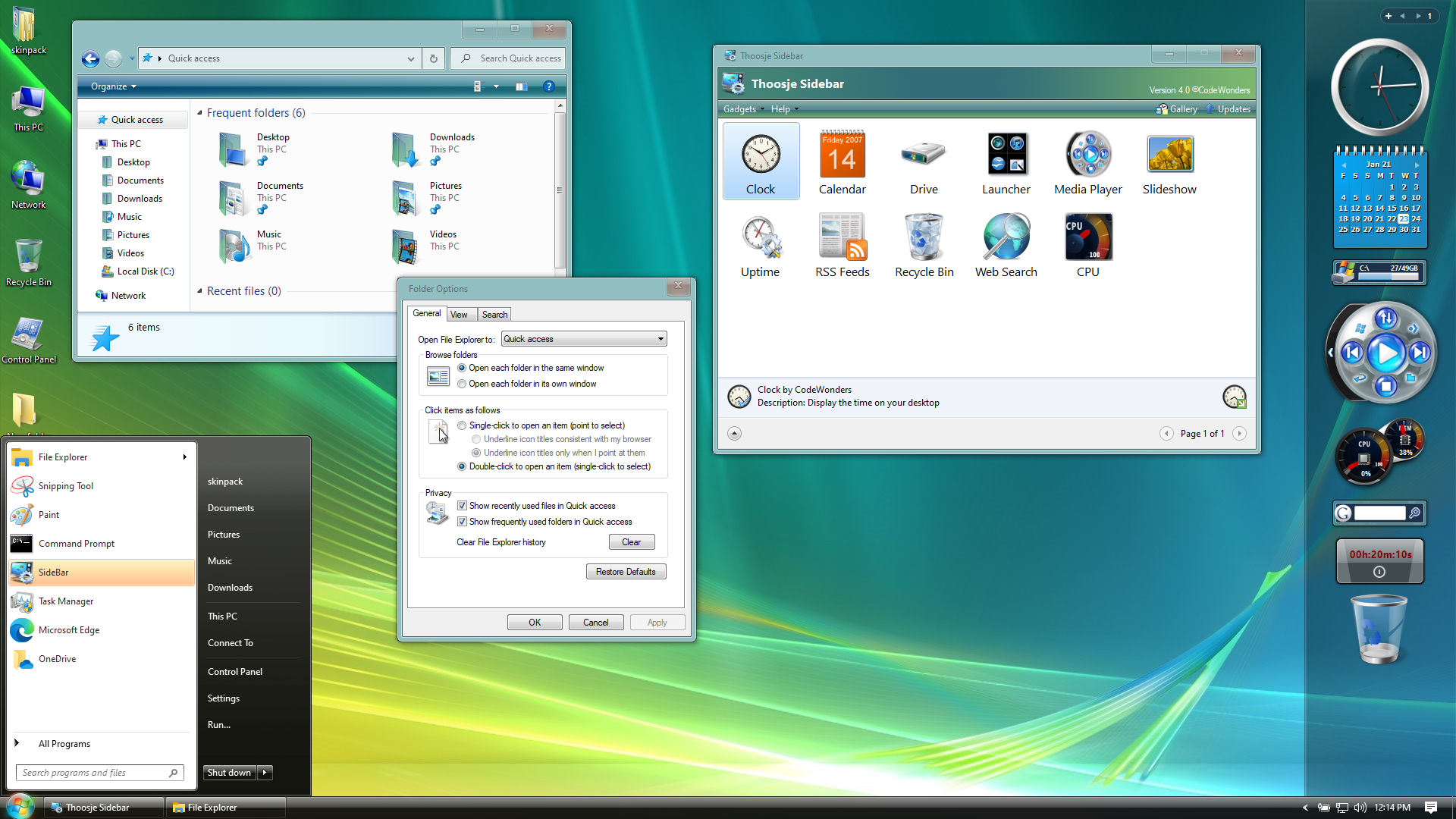 Windows Vista SkinPack for Windows 10 and 7/8