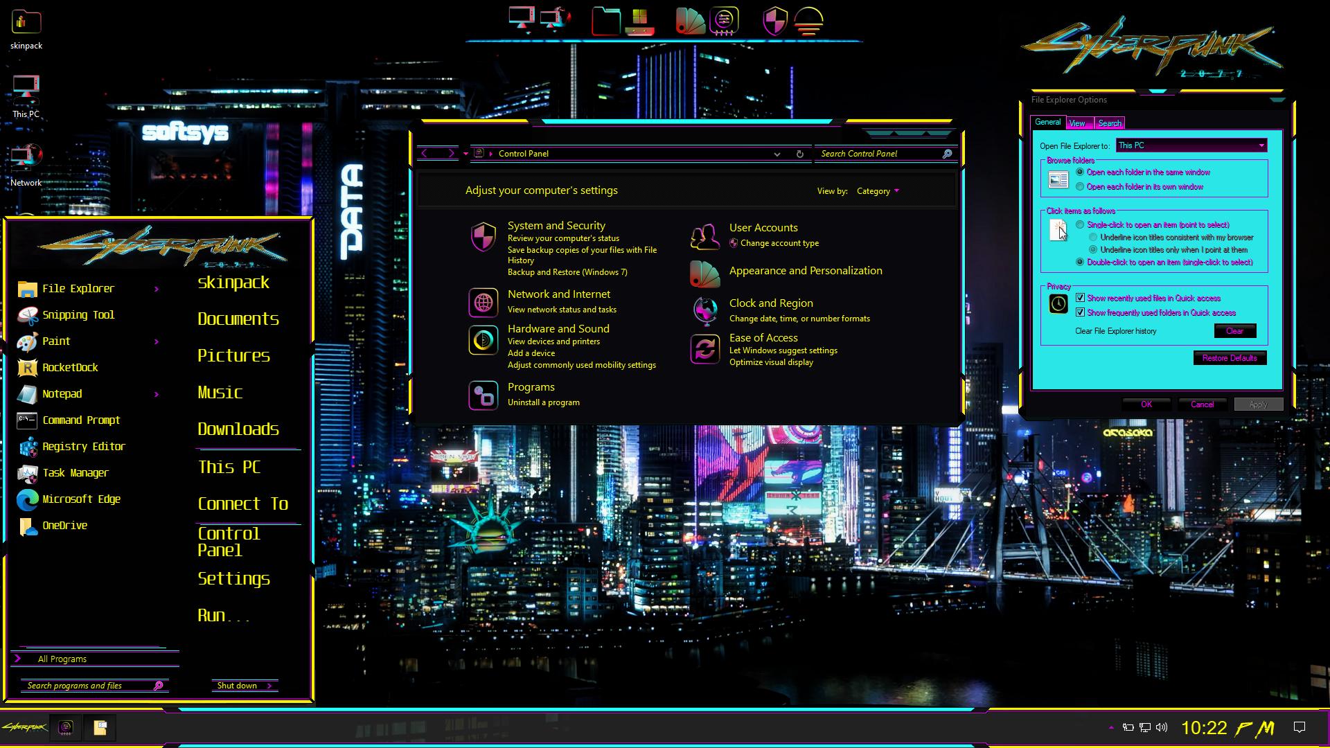 PROMETHEUS Premium SkinPack for Windows 10