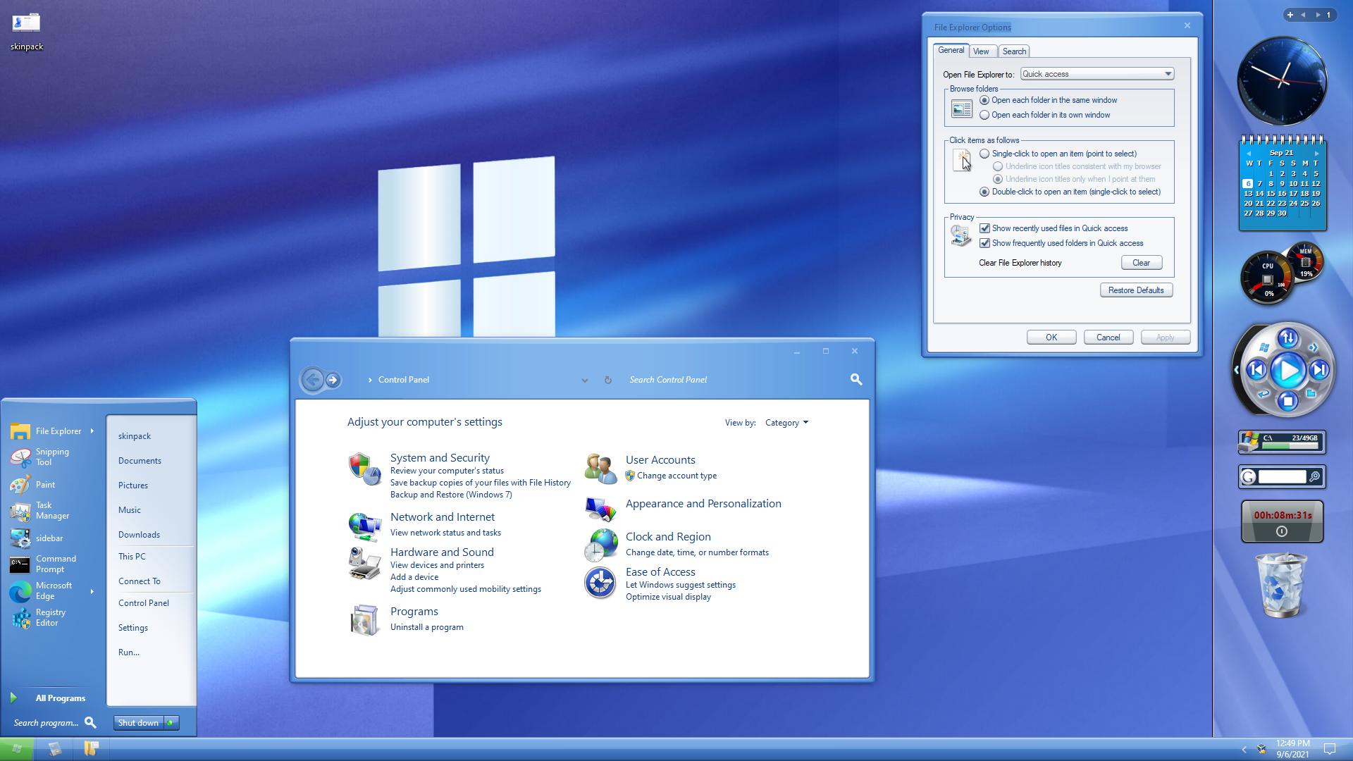 Plex Modern Skin Pack for Windows 10