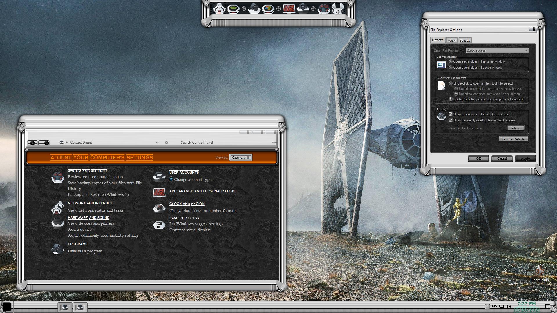 Star Wars Premium SkinPack for Windows 10