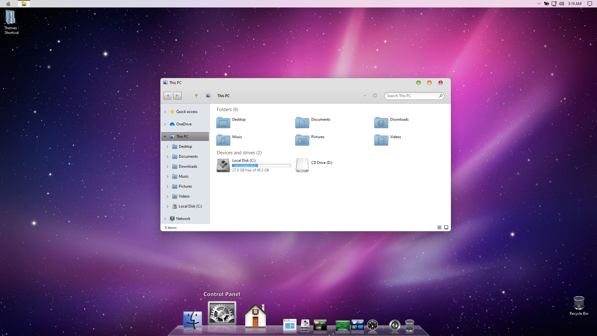 macOS Leopard SkinPack for Windows 11